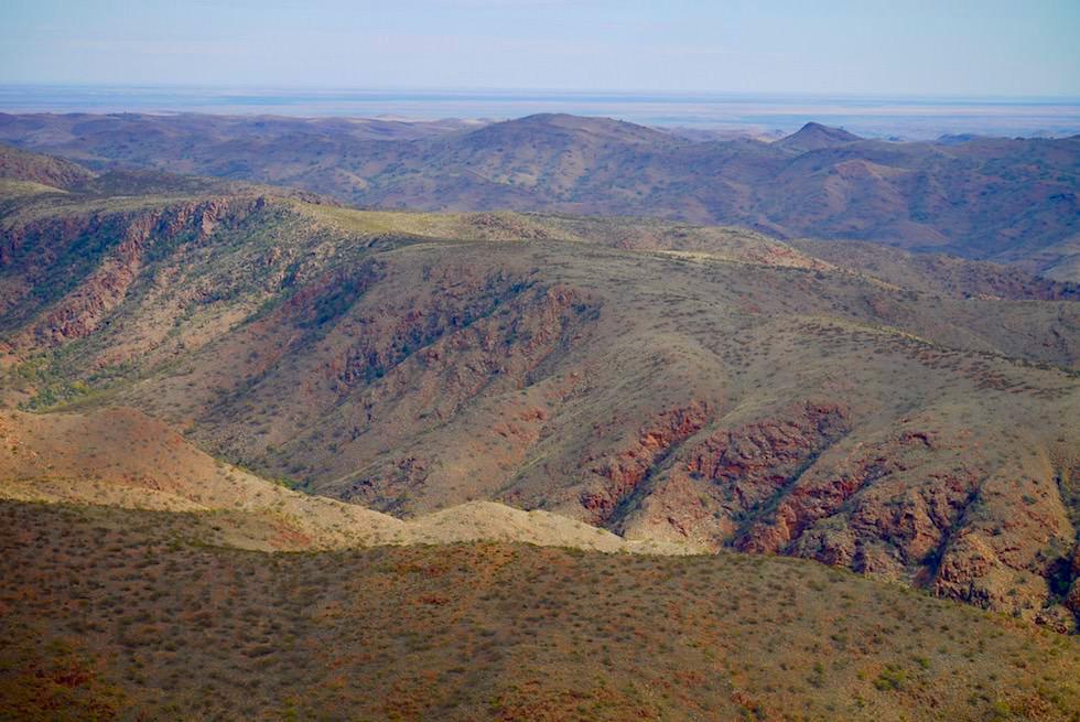 Nördliche Flinders Ranges - Grüne Ausläufer - Arkaroola Wilderness - Outback South Australia