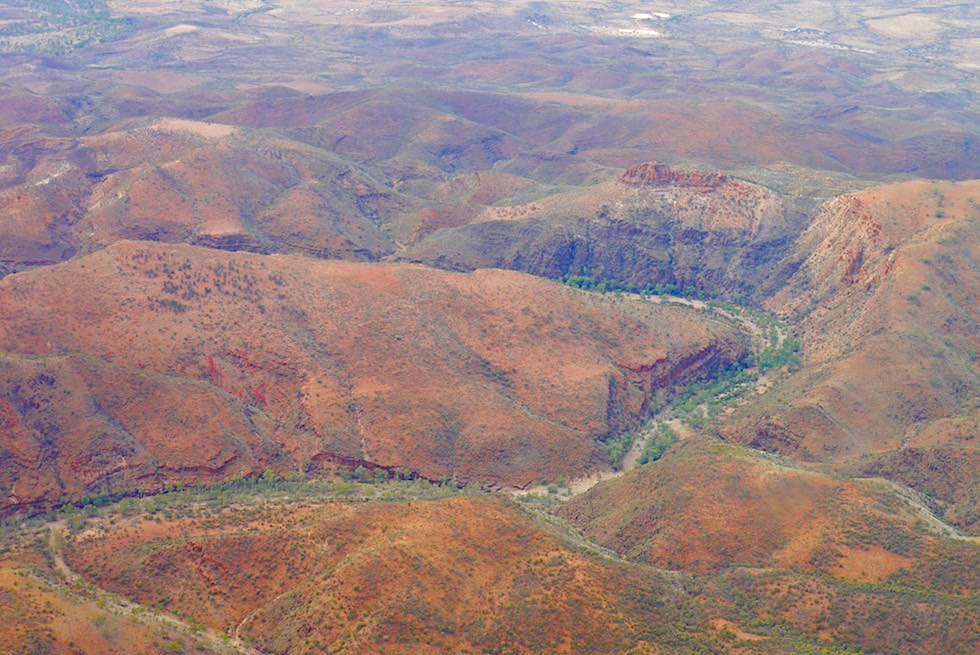 Flinders Ranges Scenic Flight - Schluchten - South Australia
