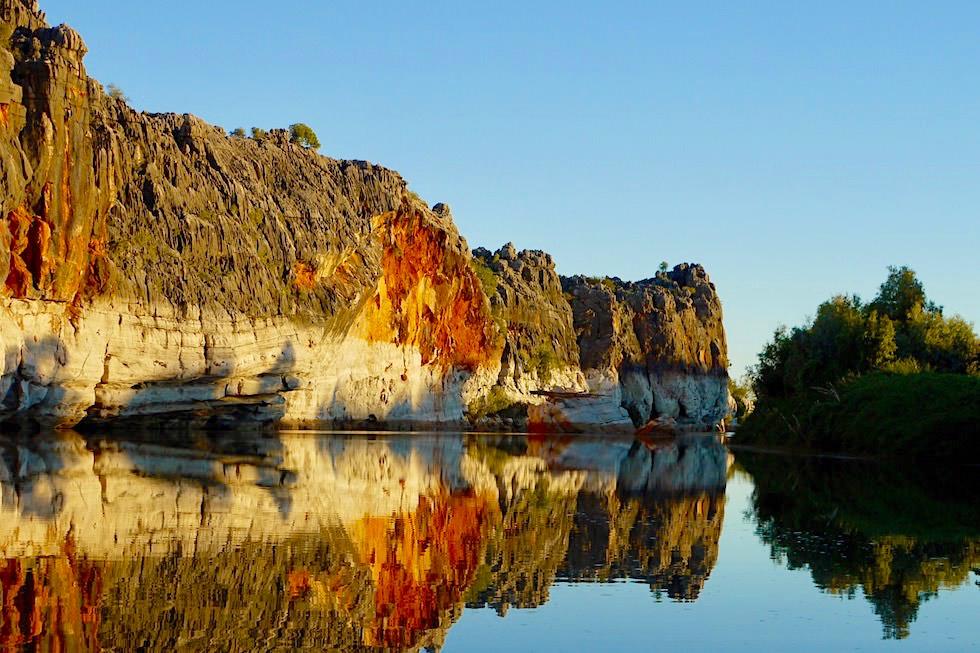 Geikie Gorge Sunset Cruise auf dem Fitzroy River - Fitzroy Crossing - Kimberley - Western Australia