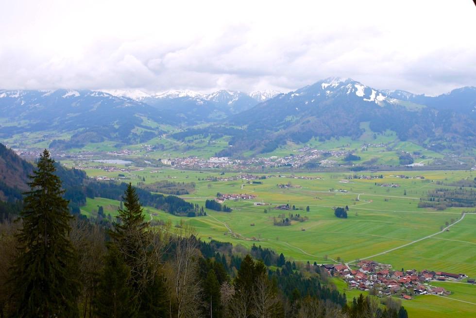 Grünten - Alpe Kammeregg - Ausblick - Rettenberg - Bayern