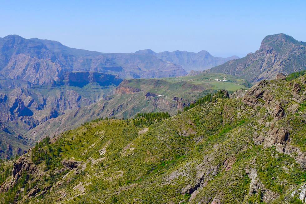 Hochebene oberhalb der Höhlensiedlung Acusa Seca bei Artenara - Gran Canaria