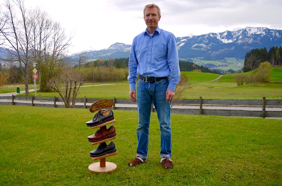 Allgäuer Hörnerdörfer: Holzschuh Manufaktur - Marco Keller - Bolsterlang im Allgäu - Bayern