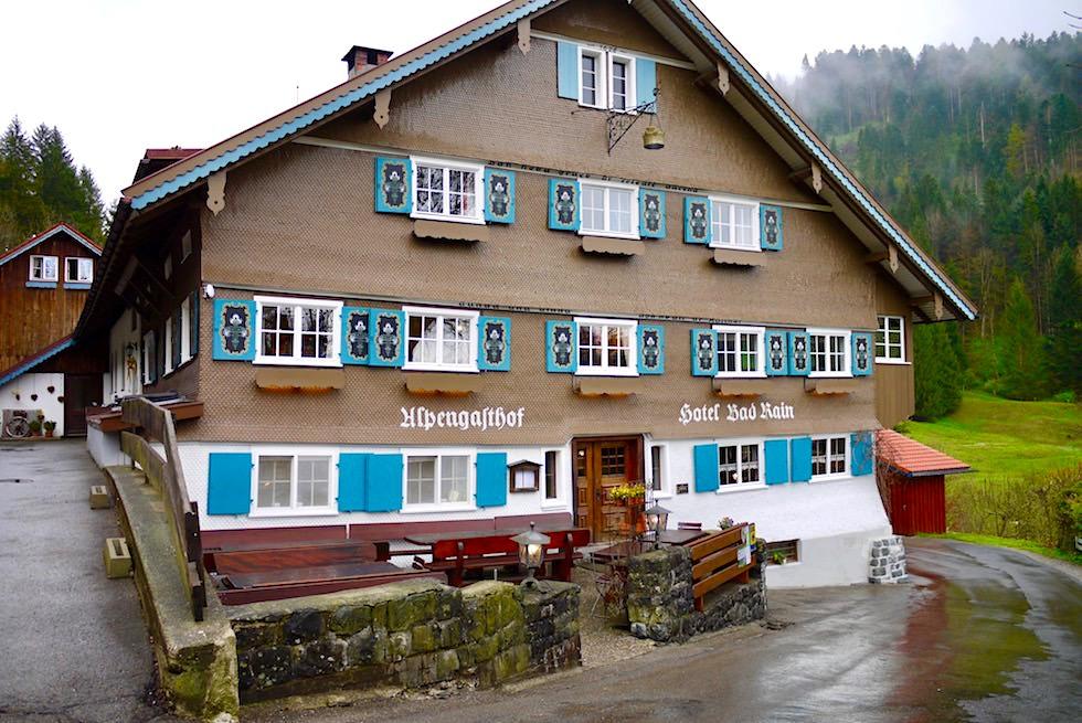 Auf der Radrunde Allgäu: Freundlich, gemütlich & schön: 4-Sterne Hotel Bad Rain - Oberstaufen
