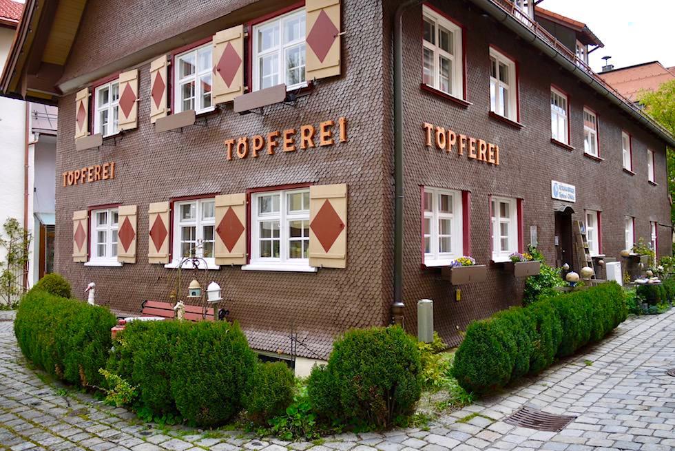 Immenstadt im Allgäu - Hörmannhaus am Klosterplatz - Bayern
