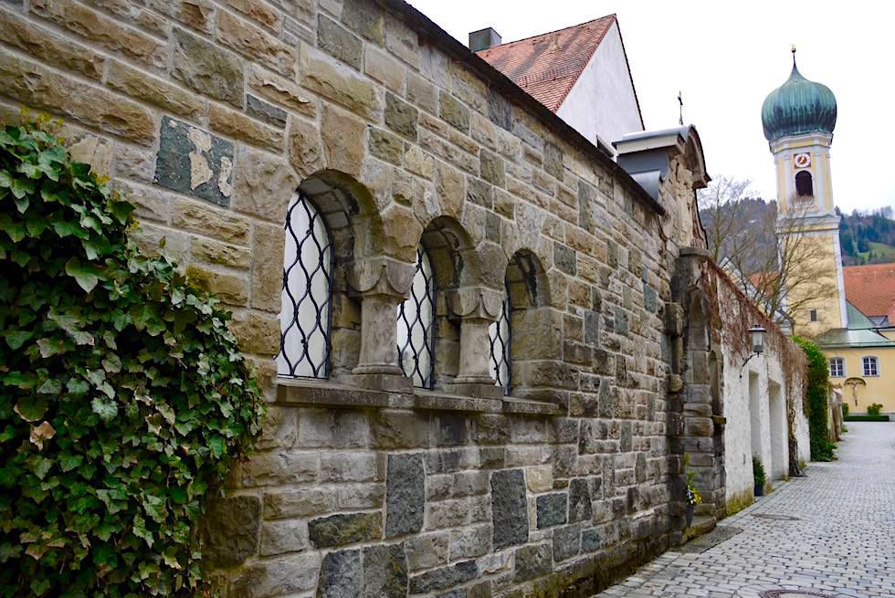 Radrunde Allgäu: Immenstadt im Allgäu - altes Gemäuer & Kirche - Bayern
