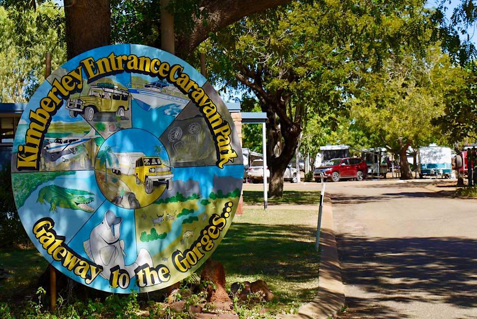 Wo sich Abenteurer treffen: Kimberley Entrance Caravan Park in Derby - Western Australia