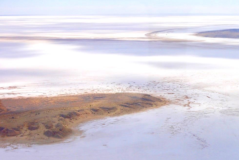 Lake Frome Scenic Flight - Wolken, Schatten & Sonne - South Australia