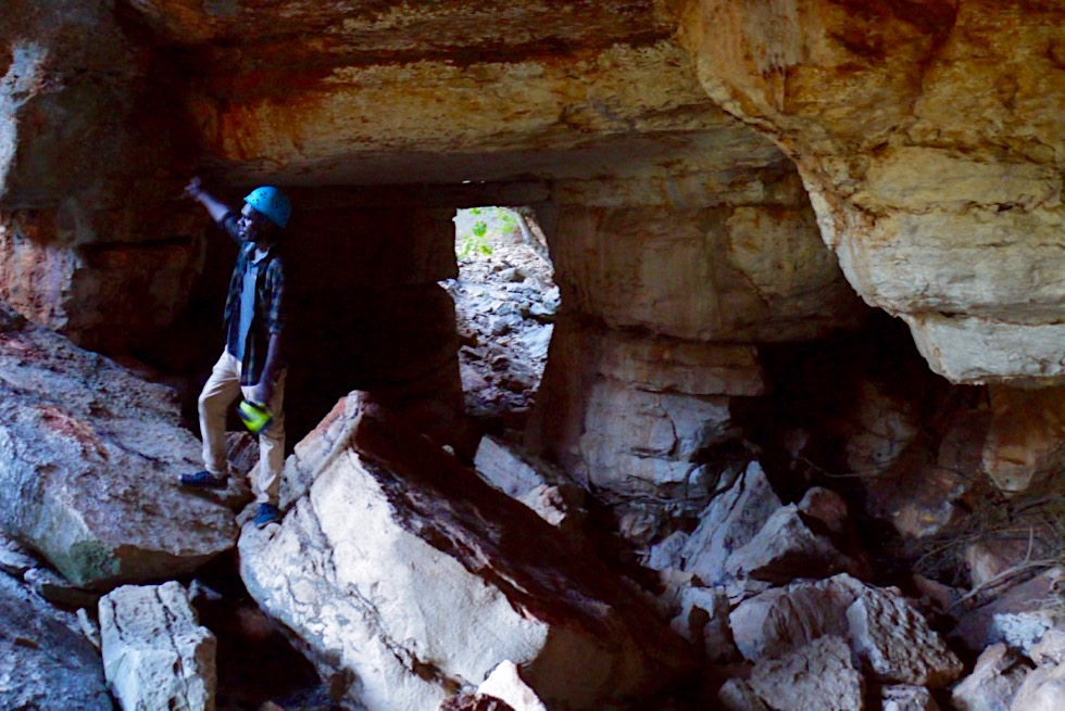 Mimbi Caves - Aboriginal Tour nahe Fitzroy Crossing - Kimberley - Western Australia