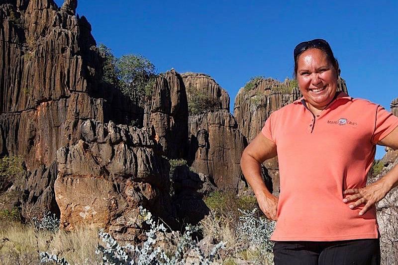 Mimbi Caves - Rosemary Owner & Manager - Kimberley - Western Australia