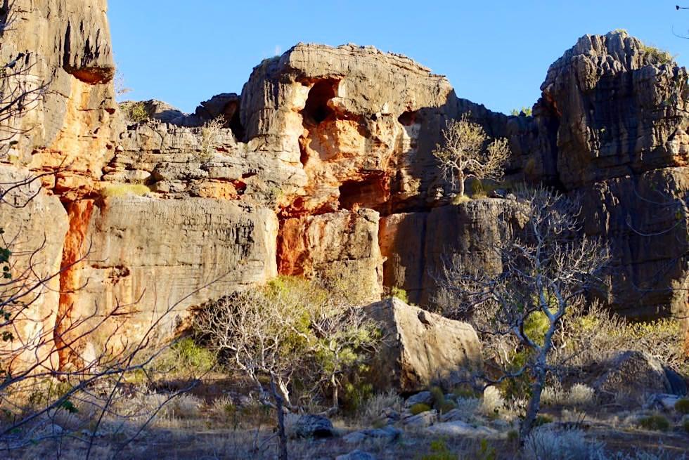 Mimbi Caves - Schlucht & bunte Felsformationen - Kimberley - Western Australia