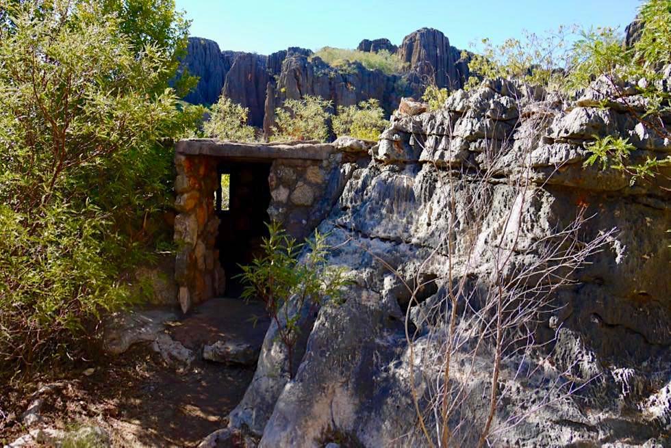 Mimbi Caves - Steinhütte von Deutschen - Kimberley - Western Australia