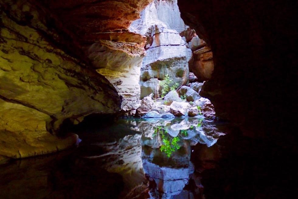 Mimbi Caves Aboriginal Tour - Wasserspiegelungen & Farben - Kimberley - Western Asutralia