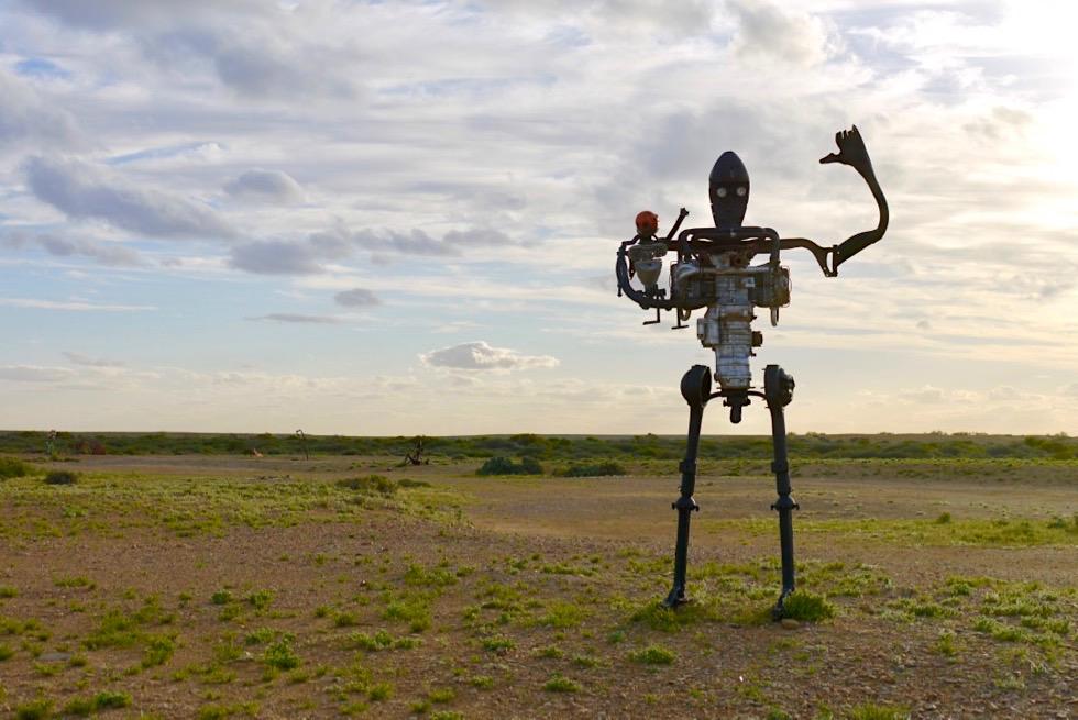 Mutonia Sculpture Park - Faszinierende Skulpturen - Oodnadatta Track - Outback South Australia