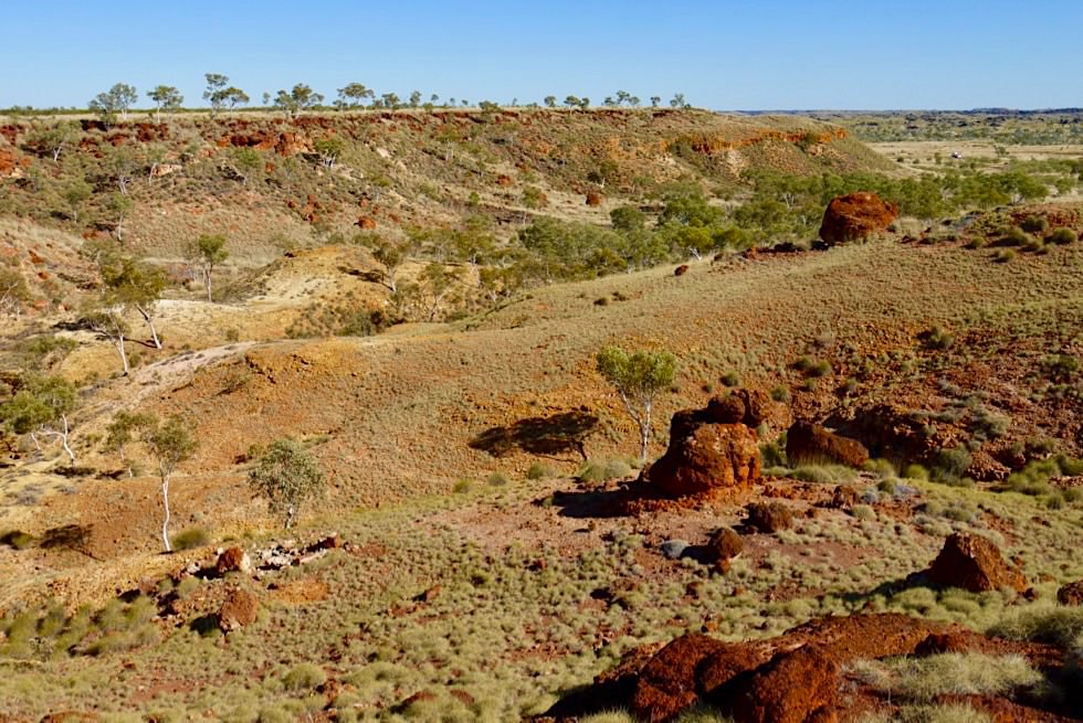 Ngumban Cliffs - Rest Area am Great Northern Highway - Grandioser Ausblick - Kimberley - Western Australia