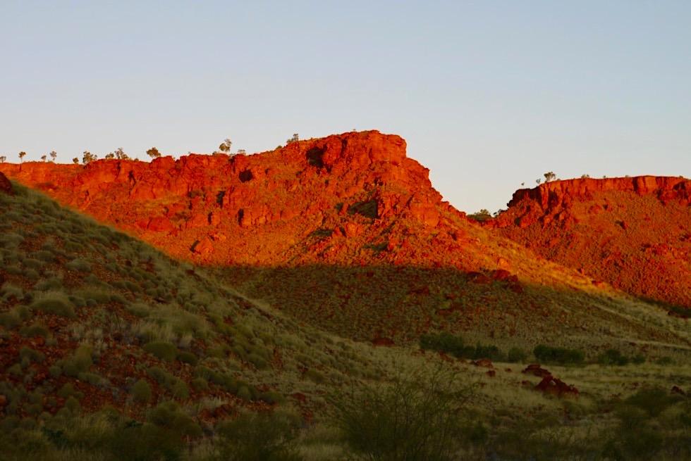 Ngumban Cliffs - Feurige Sonnenuntergangsstimmung - Kimberley - Western Australia