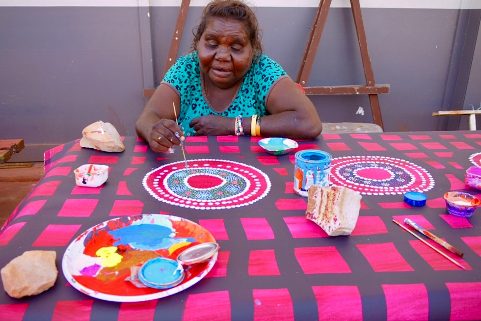 Norval Gallery in Derby - Aboriginal Kunst - Kimberley - Western Australia