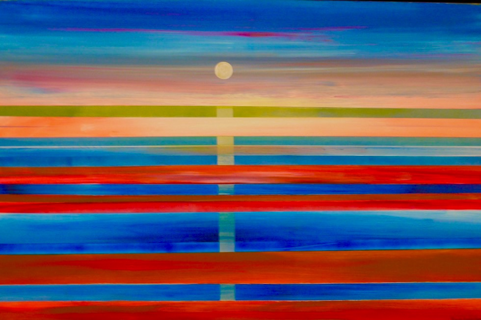 Norval Gallery in Derby - Marc Norval: Derby Sonnenuntergang am Jetty - Kimberley - Western Australia