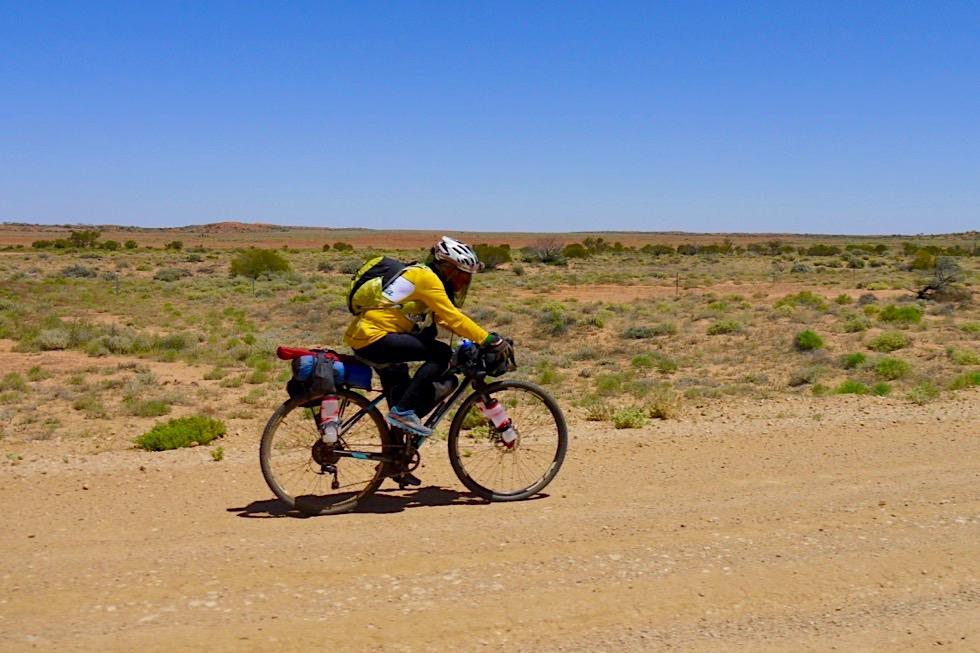 Nur für die Extra Harten:Oodnadatta Track mit dem Fahrrad - Outback South Australia