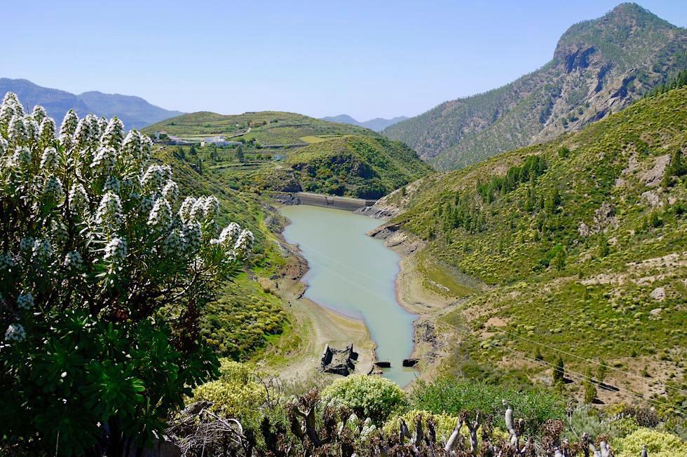 Stausee Presa de La Candelaria - Acusa Seca - Artenara - Gran Canaria