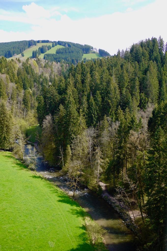 Radrundweg Allgäu - Erlebniswelten Wasserreiche: Schluchten & Flüsse - Bayern