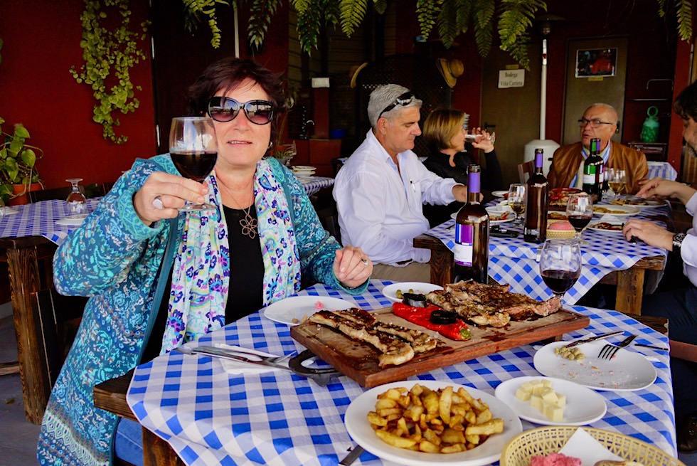 Valsequillo Genusstour - Vino Cantera: Grillplatte - Gran Canaria