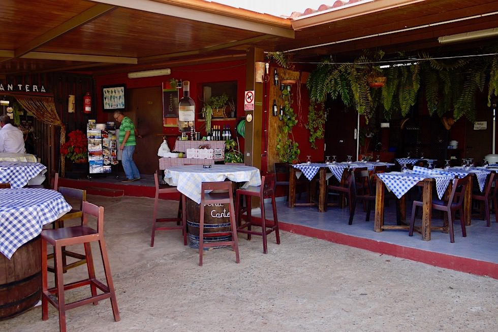 Valsequillo Genusstour - Vino Cantera & Restaurant: essen inmitten von Weinreben - Gran Canaria