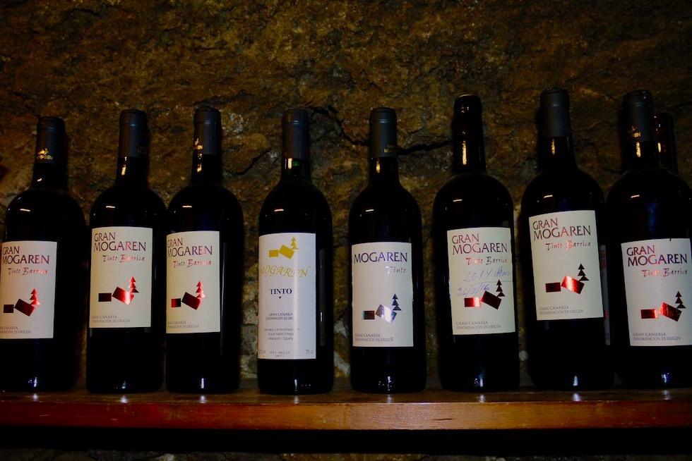 Valsequillo Genusstour - Beste Weine: Weinprobe Bodegas Mogaren - Gran Canaria