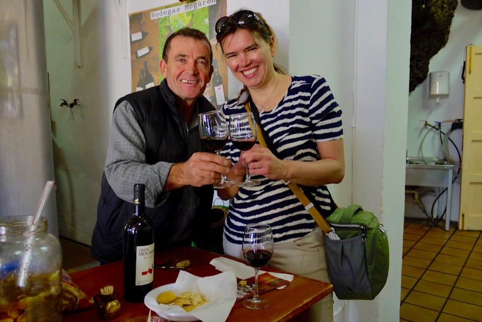 Valsequillo Genusstour - Beste Weine: Weinprobe bei Bodegas Mogaren - Gran Canaria