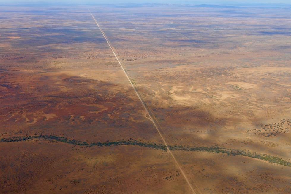 Versorgungstrack für Minenarbeiter & Bergbau - Outback - South Australia