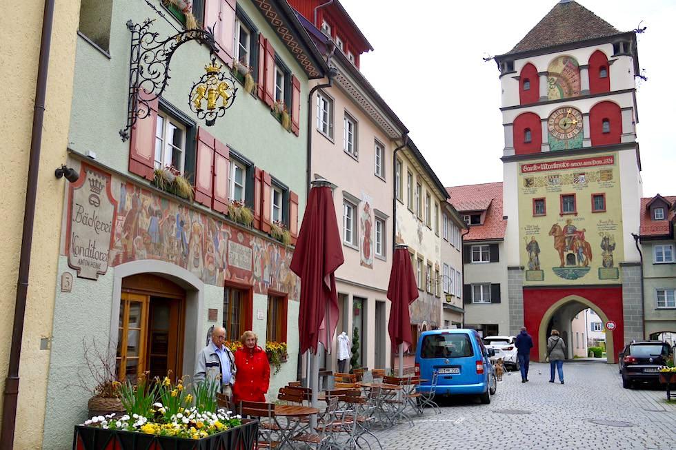 Wangen im Allgäu - Martinstor & Fidelisbäck, älteste Bäckerei Deutschlands - Baden-Württemberg