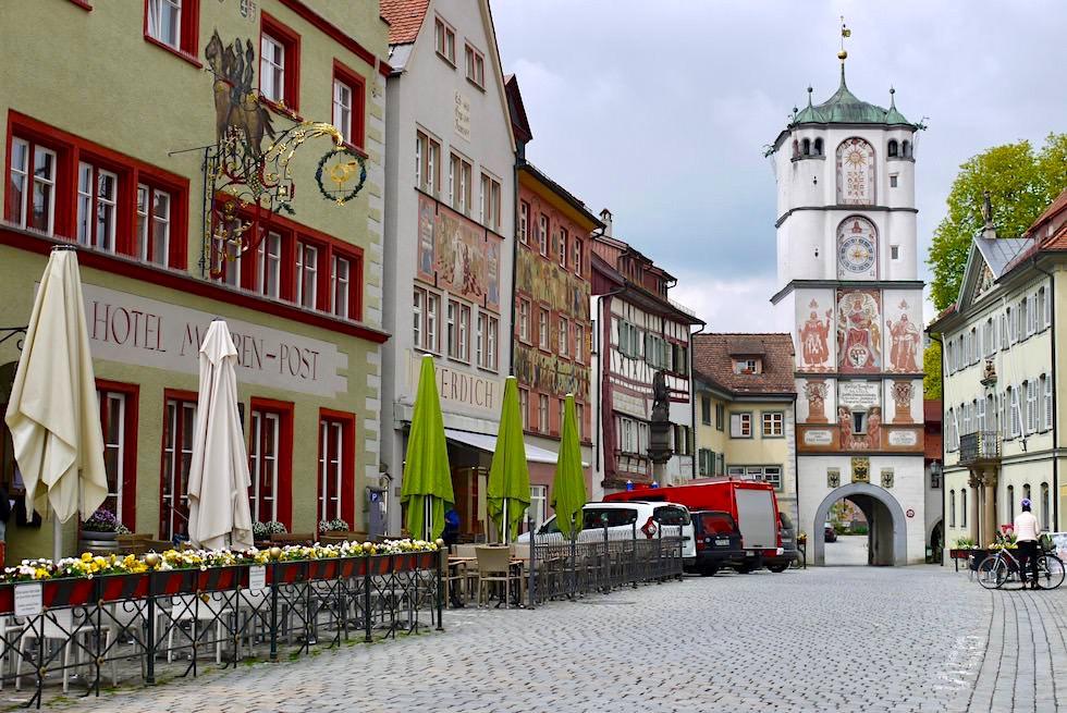 Wangen im Allgäu - Ravensburger Tor, Herrenstraße & wunderschön restaurierte Altstadt - Baden-Württemberg