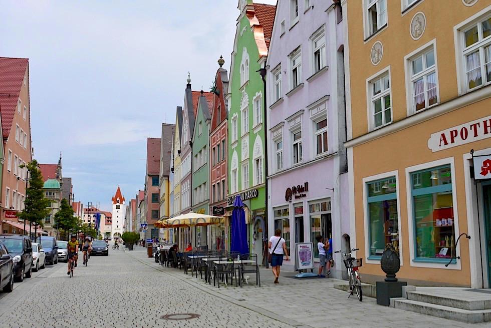 Historische Altstadt von Mindelheim - Allgäu - Bayern