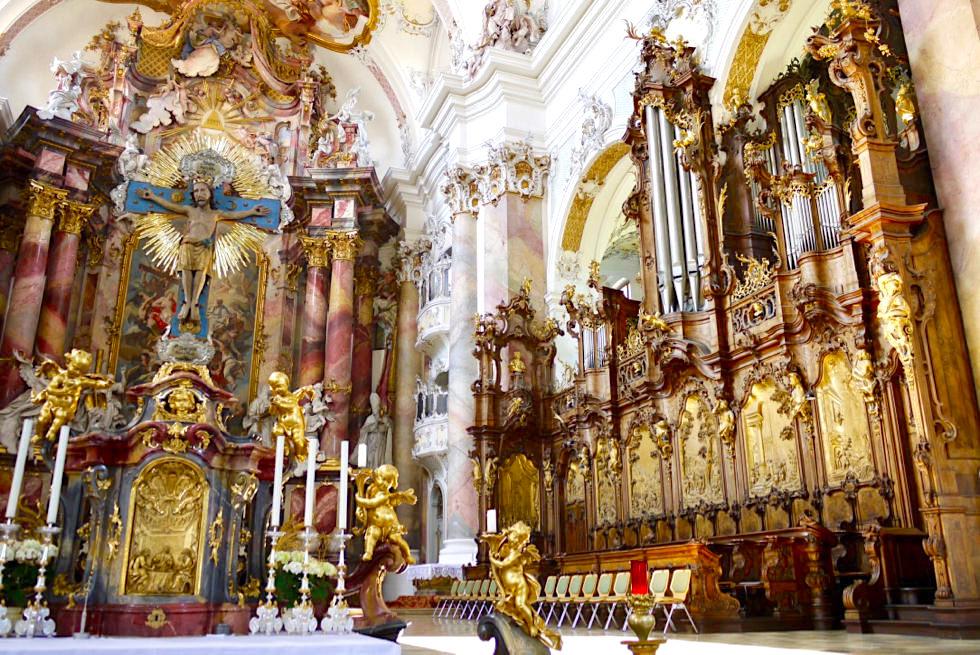 Basilika Ottobeuren - Chorgestühl & Orgel - Allgäu - Bayern