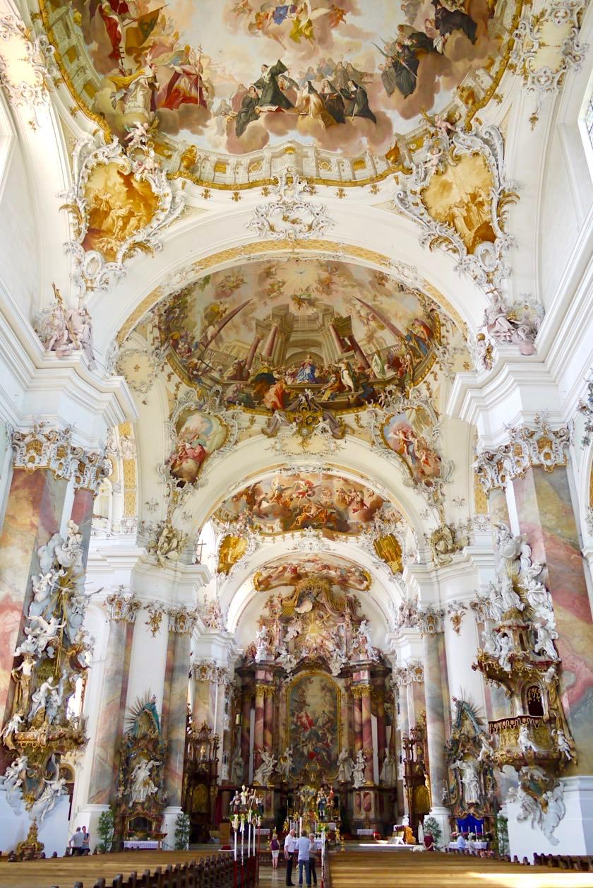 Basilika Ottobeuren - Eine der prunkvollsten schönsten Kirchen Deutschlands - Allgäu - Bayern