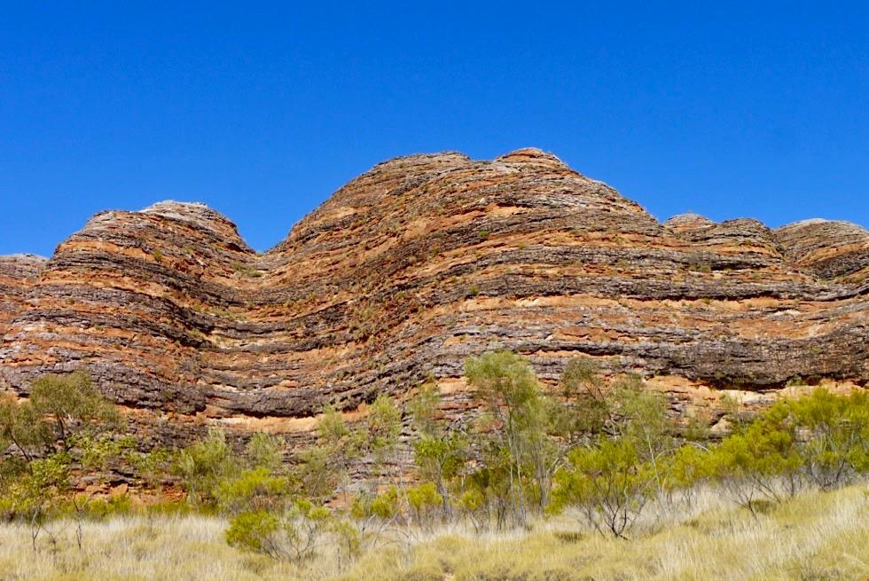 Bungle Bungle National Park - gestreifte Sandstein Strukturen der Piccaninny Gorge - Kimberley, Western Australia