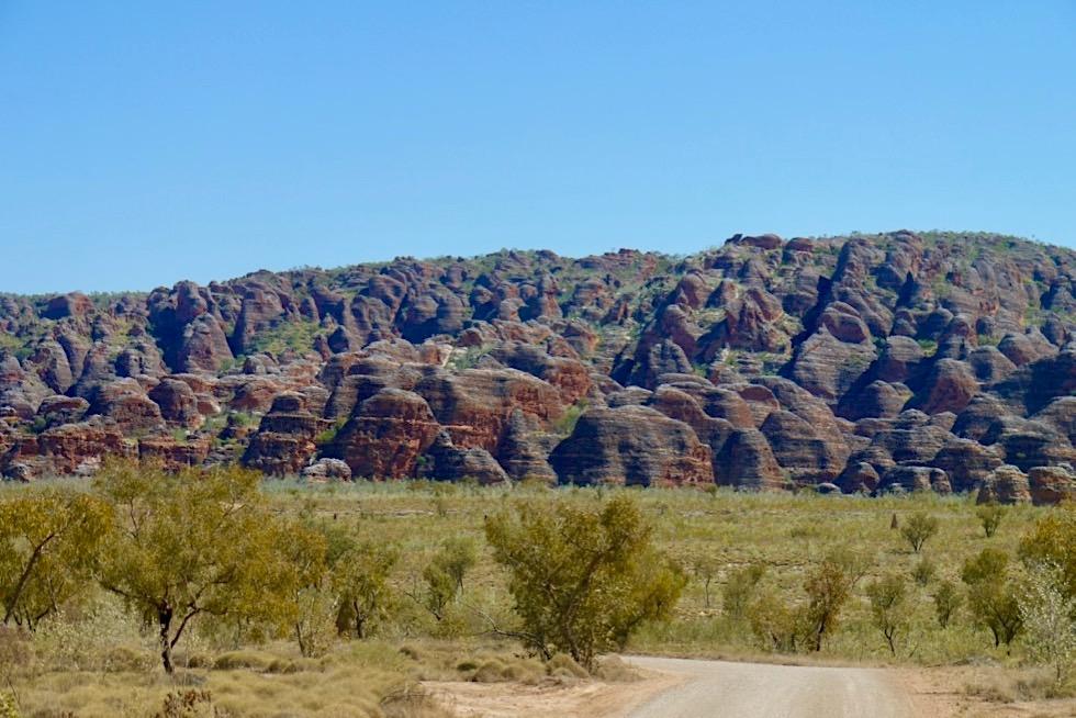 Bungle Bungles - Zufahrt zum Piccaninny Parkplatz - Kimberley, Western Australia