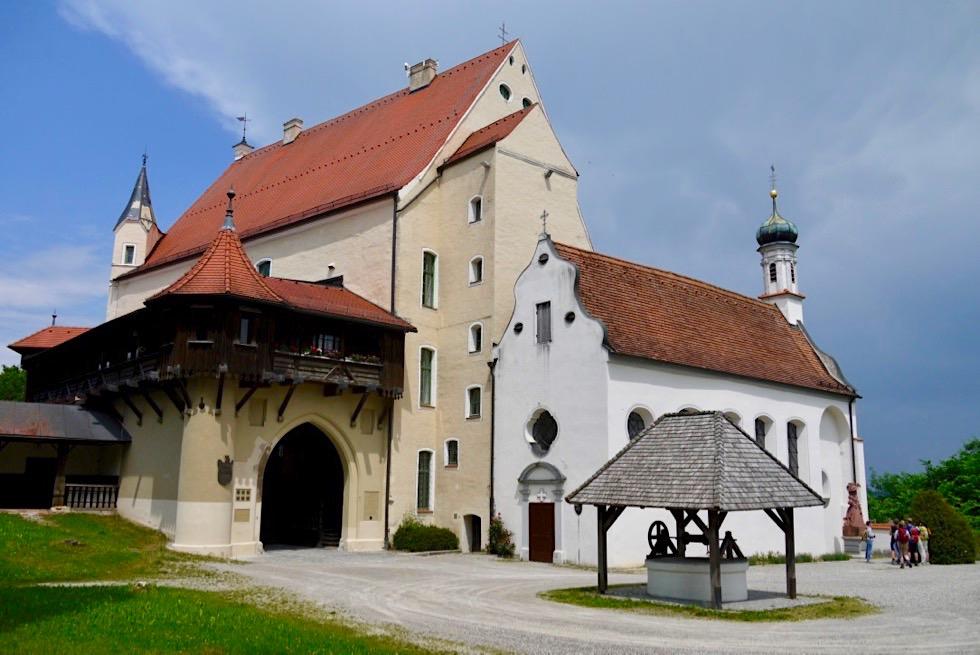 Burg Mindelheim & Kirche auf dem Georgenberg - Allgäu - Bayern