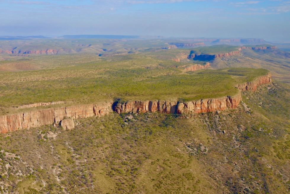 Cockburn Range - Ostseite aus der Vogelperspektive - Kimberley - Western Australia