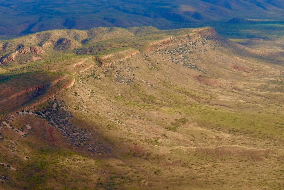 Cockburn Range - Ostseite vom Great Northern Highway gesehen - Kimberley - Western Australia