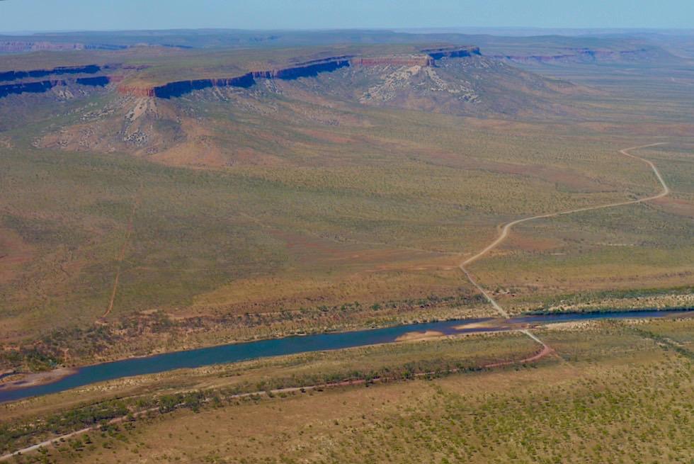 Cockburn Range, Pentecost River & Crossing: Legendäres Foto auf der Gibb River Road - Kimberley Outback - Western Australia