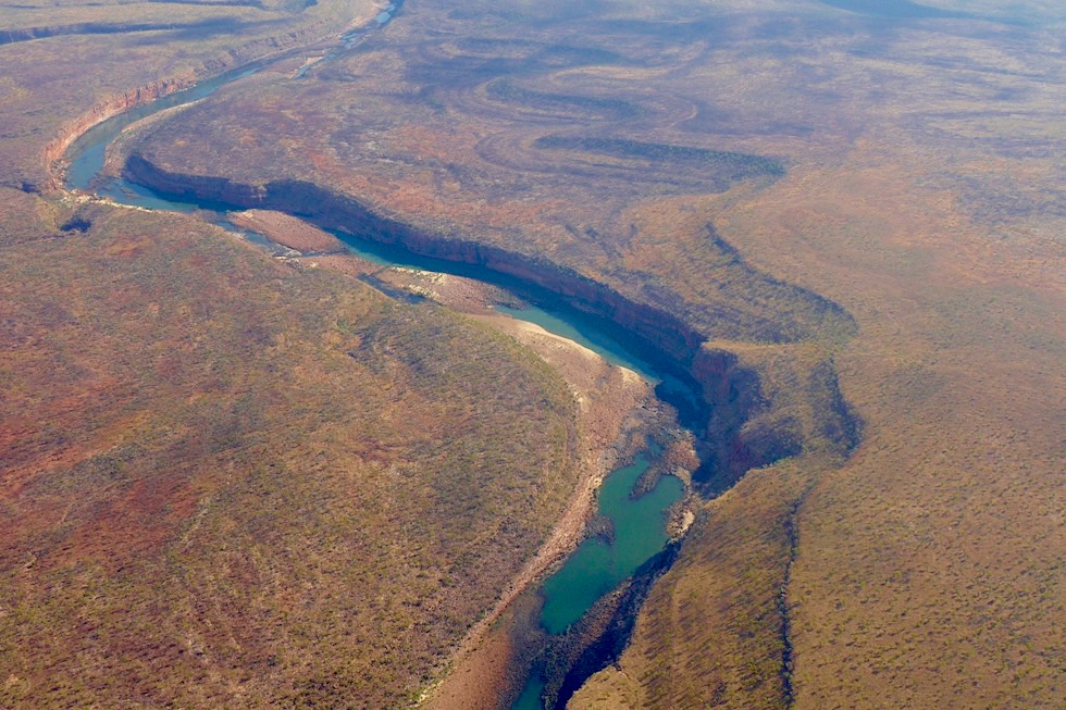 Kingfisher Scenic Flights: Drysdale River - Kimberley Outback - Western Australia