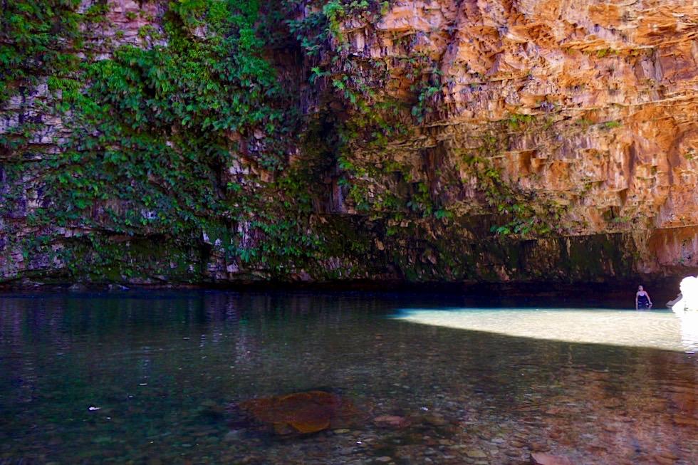 Emma Gorge Pool - Natürliches Schwimmbad - Kimberley - Western Australia