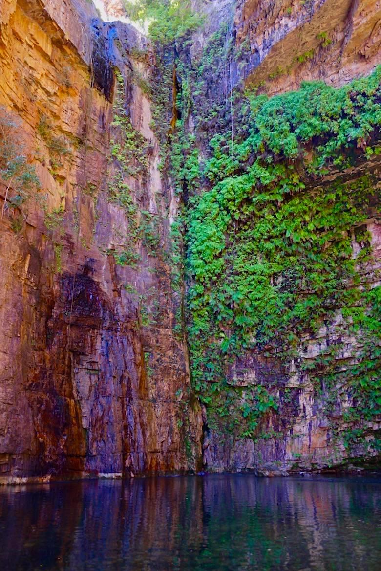 Emma Gorge Pool - Ort der Wasserfälle zur Regenzeit - El Questro - Kimberley - Western Australia
