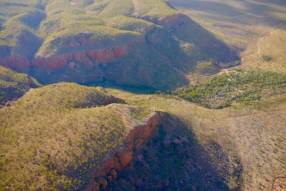 Emma Gorge - aus der Vogelperspektive - Kimberley - Western Australia