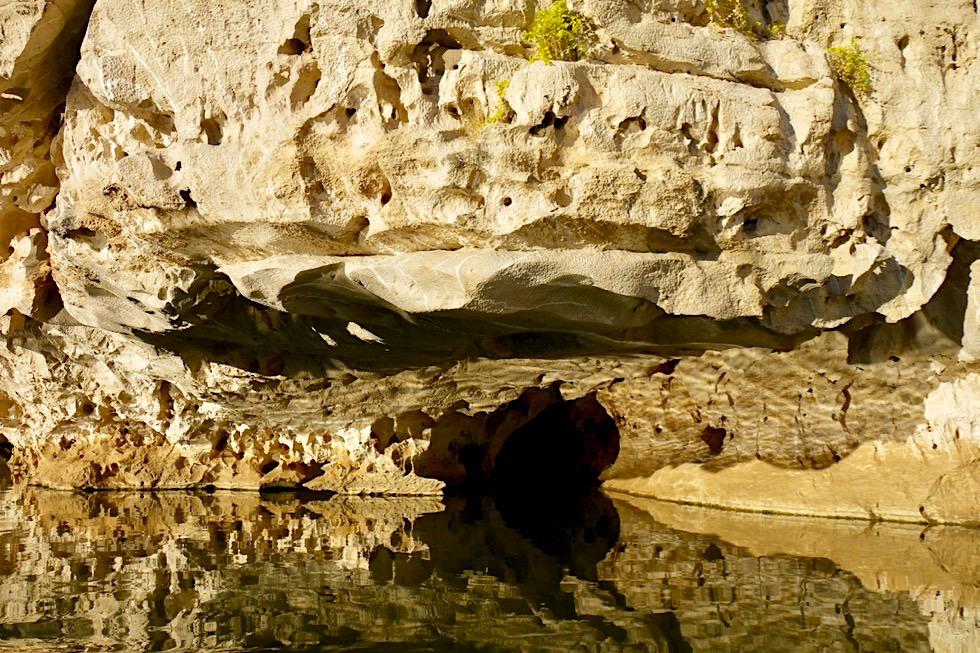 Geikie Gorge Bootstour - Eisberge spiegeln sich im Fitzroy River bei Sonnenuntergang - Kimberley - Western Australia