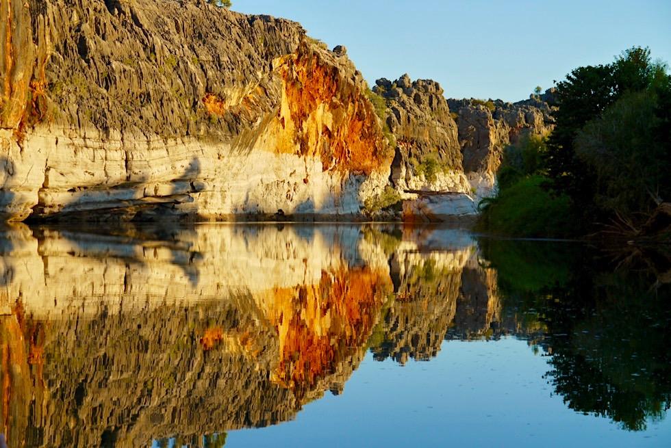 Geikie Gorge National Park - Feurige Felsen: Das Highlight der Sunset Boat Tour - Kimberley - Western Australia