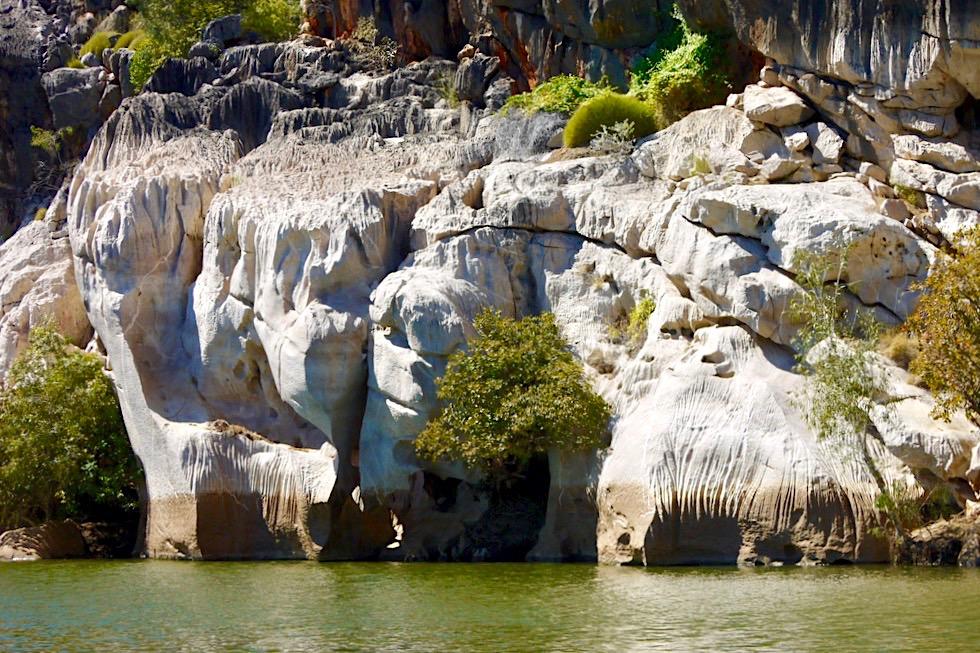 Geikie Gorge - Faszinierend: Regen bearbeitet den Sandstein - Kimberley - Western Australia