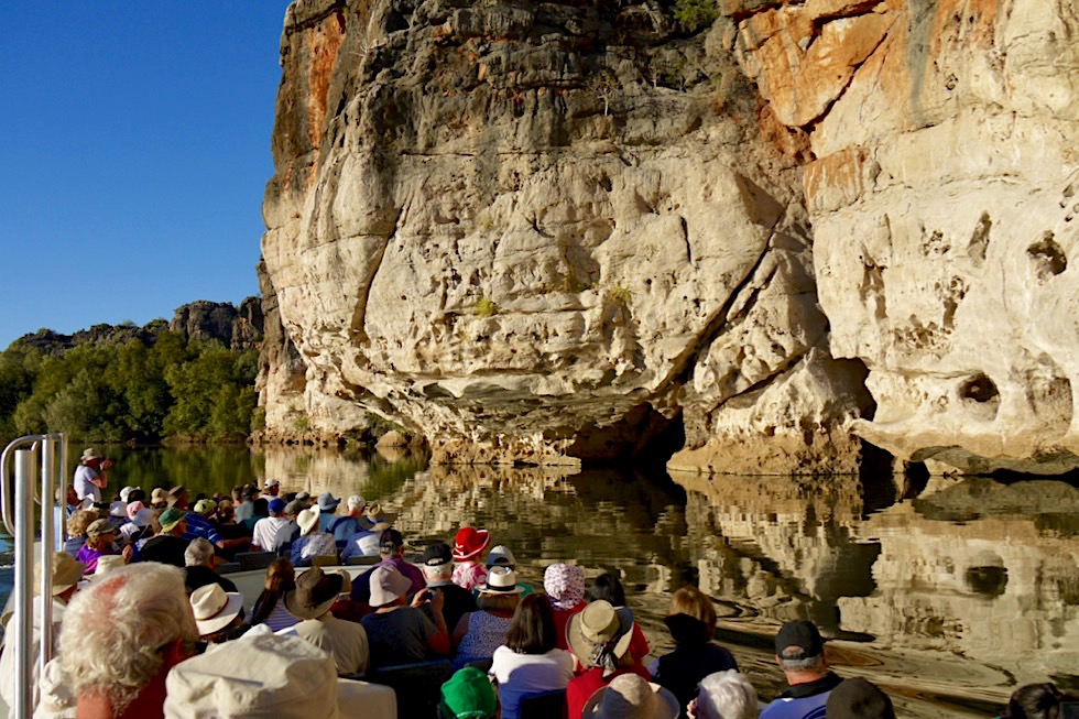 Geikie Gorge Sunest Boat Tour - Fitzroy River - Kimberley - Western Australia