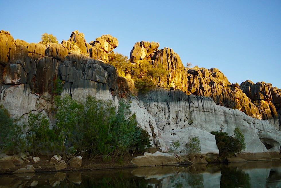 Geikie Gorge versinkt im Schatten - Kimberley - Western Australia