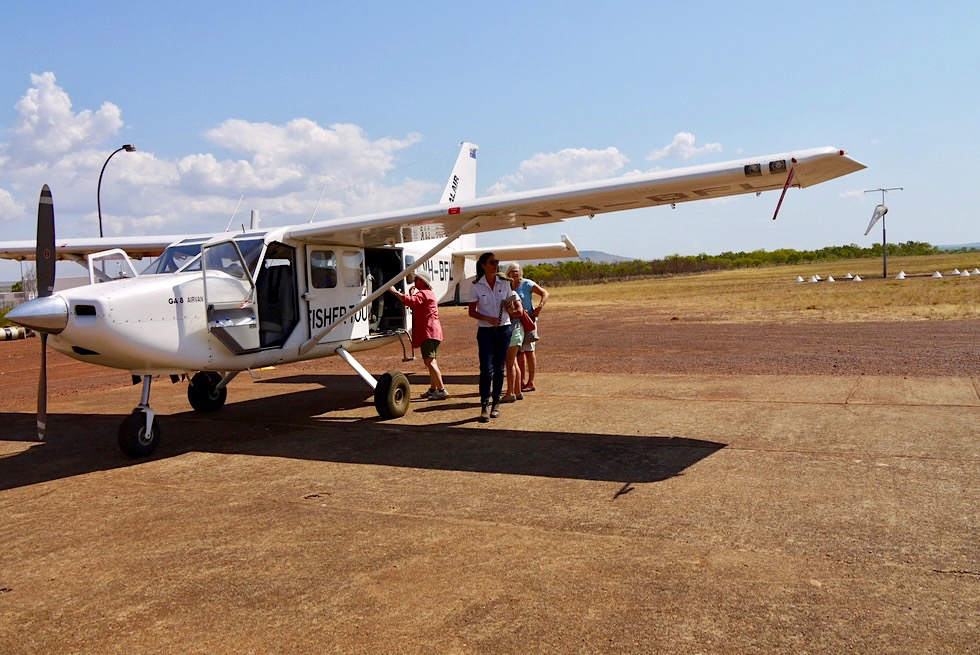 Kalumburu Air Strip - Zwischenlandung mit Kingfisher Tours - Kimberley - Western Australia